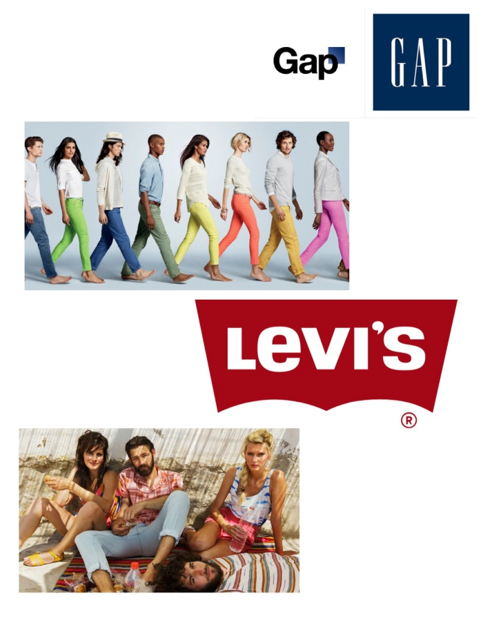 gap and levis image